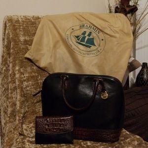 Brahmin set, purse and wallet